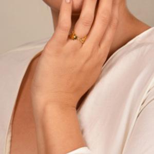 Aurelie Bidermann - Grigri Ring - Size 7
