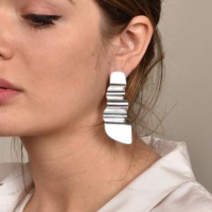 Agmes - Mira Earrings - Sterling Silver