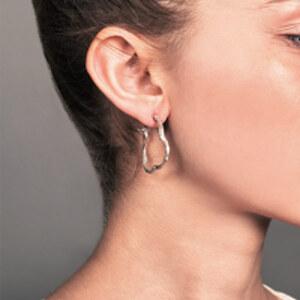 Coline Assade - Big Twig Hoop Earrings