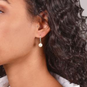 Mateo - Single Pearl Drop Earrings
