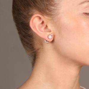 Vita Fede - Double Titan Howlite Earrings