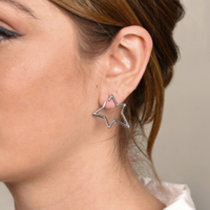 Jennifer Fisher - Small Star Earrings - Silver