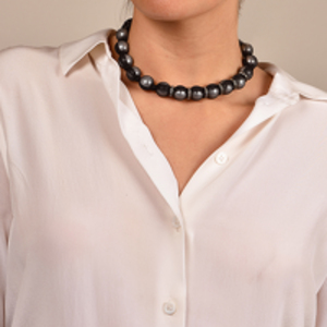 Lanvin - Beaded Mesh Necklace