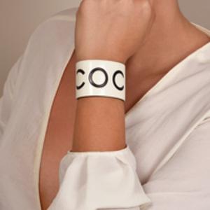 Chanel - Resin Coco Cuff -  Extra Small