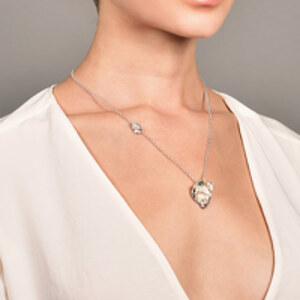 Coline Assade - Knock On Wood Pendant Necklace