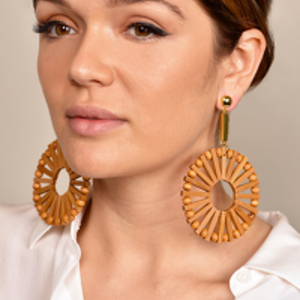 Cult Gaia - Eva Earrings - Natural