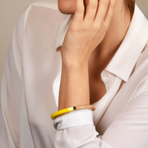 Louis Vuitton - Magnetic Yellow Colorama Bangle