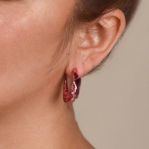 Gaviria - Small Trash Earrings (Pink)