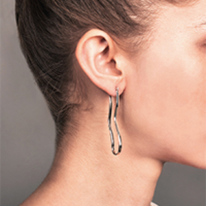 Odette - Miro Earrings (Silver)