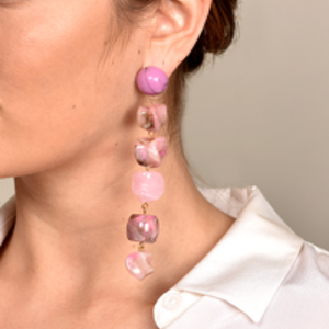Cult Gaia - Leo Earrings - Pink Multi