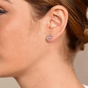 Yu  - Triple Starburst Stud Earrings