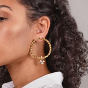 Oscar De La Renta - Braided Gem Earrings