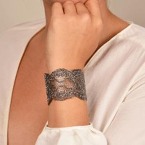 Aurelie Bidermann - Lace Cuff (Silver)
