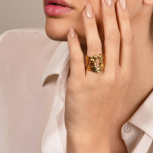 Louis Vuitton - Link Studded Ring