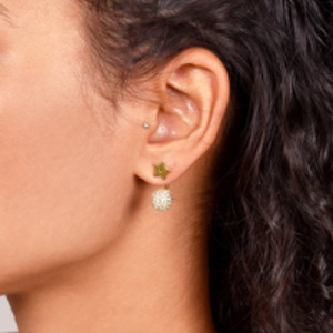 Christian Dior - Crystal and Star La Petite Tribale Earrings