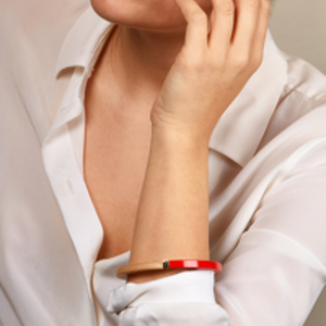 Louis Vuitton - Magnetic Red Colorama Bangle