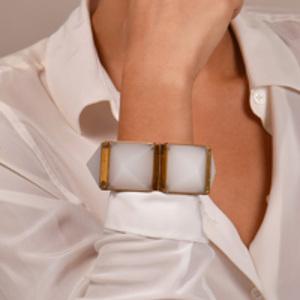 Burberry - Resin Pyramid Link Bracelet