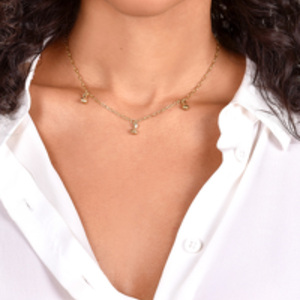 Rebecca Pinto - Digue Dangler Necklace
