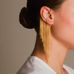 Arme De L'Amour - Fringed Ear Cuff