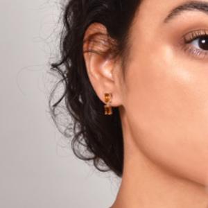 Suzanne Kalan - Yellow Gold Drop Earrings (Citrine)