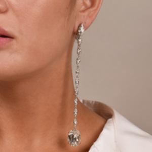 Yves Saint Laurent - Crystal Earrings