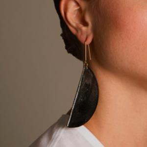Stella McCartney - Gold Toned Enamel Earring