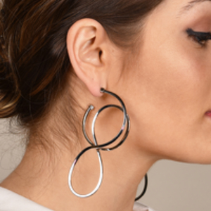 Balenciaga - Circle Hoop Earrings