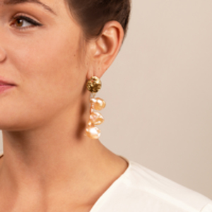 Alighieri - La Jetee Pearl Earrings