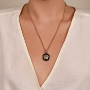 Versace - Gold Medusa Pendant Necklace