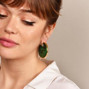Rachel Comey - Nina Earrings (Green)