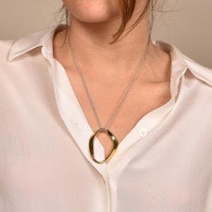 Agmes - Isabel Pendant - Gold Vermeil
