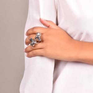 Jennifer Fisher - Double Knot Ring - Size 5